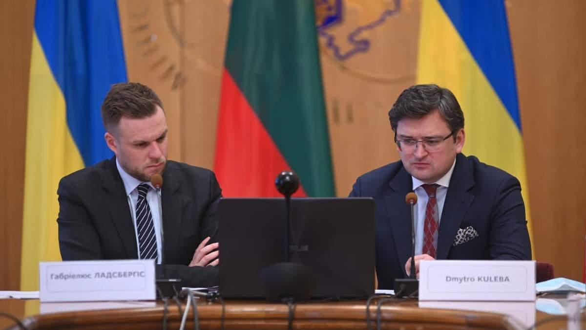 Кулеба рассказал, какой будет гуманитарная помощь для Литвы