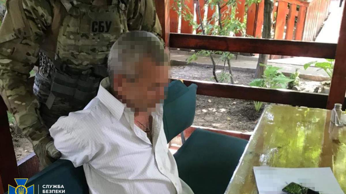 СБУ затримала російського розвідника на Черкащині