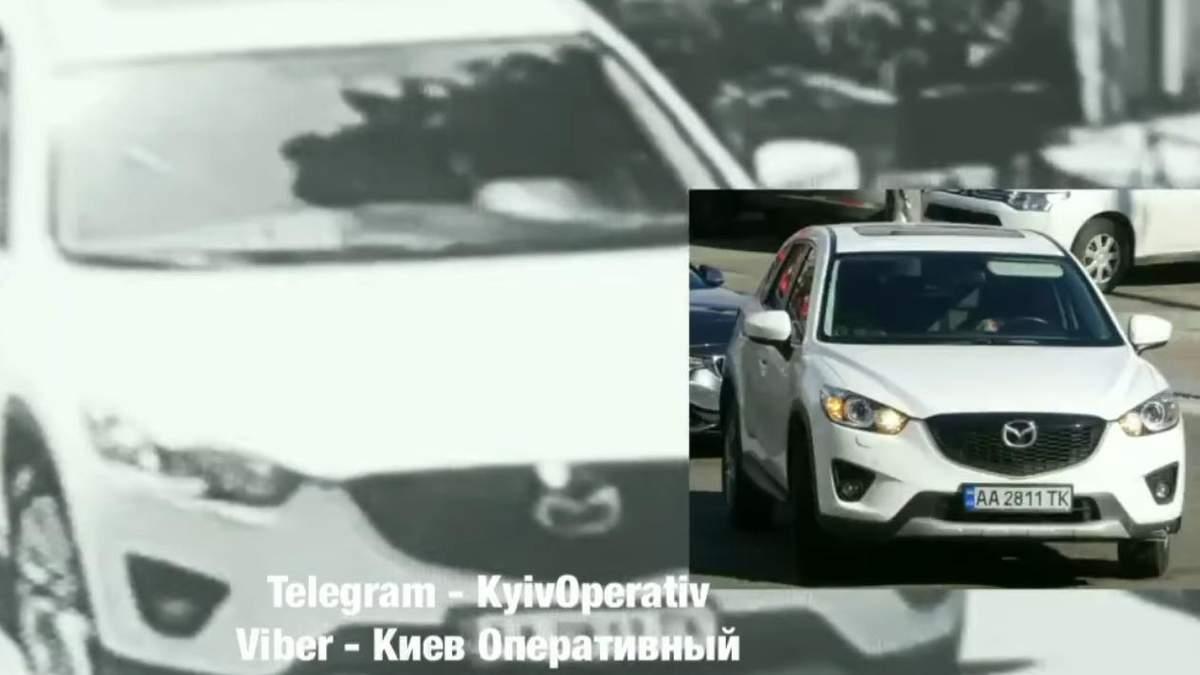 В Киеве в третий раз поймали пьяной за рулем жену таможенника