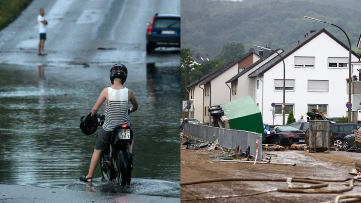 Непогода в Швеции 28 июля 2021 затопила сотни домов