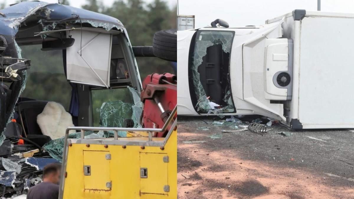 В Польше автобус с детьми столкнулся с грузовиком: есть пострадавшие