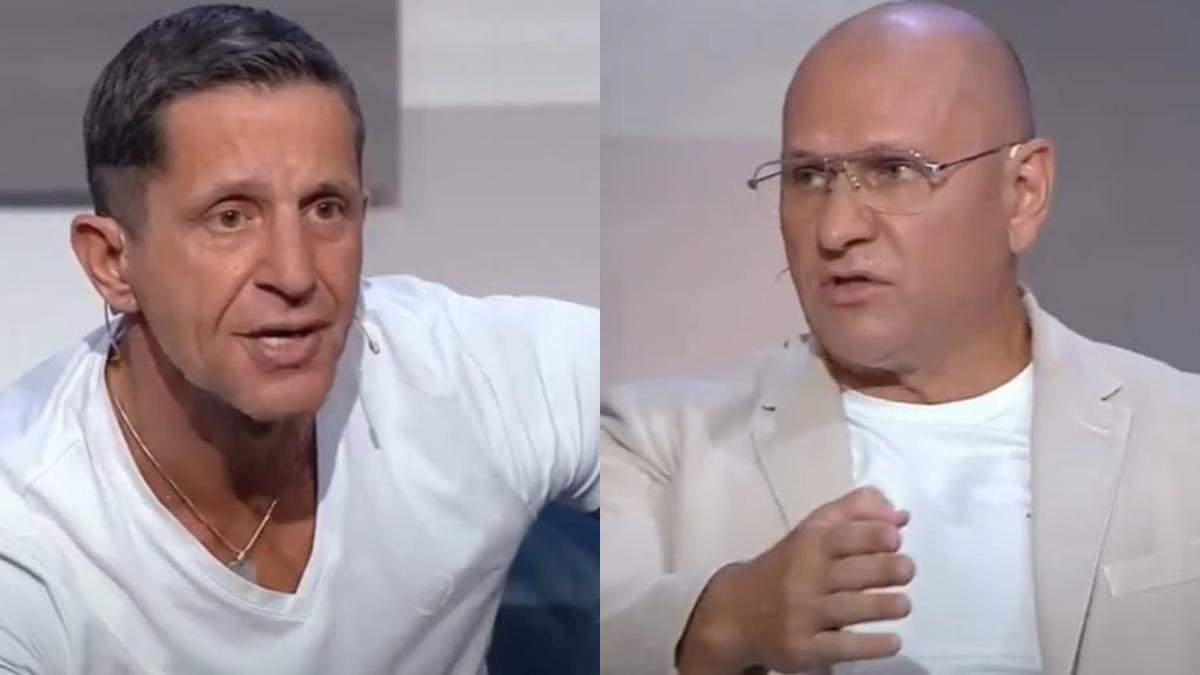 Зорян Шкиряк и Евгений Шевченко устроили схватку в прямом эфире