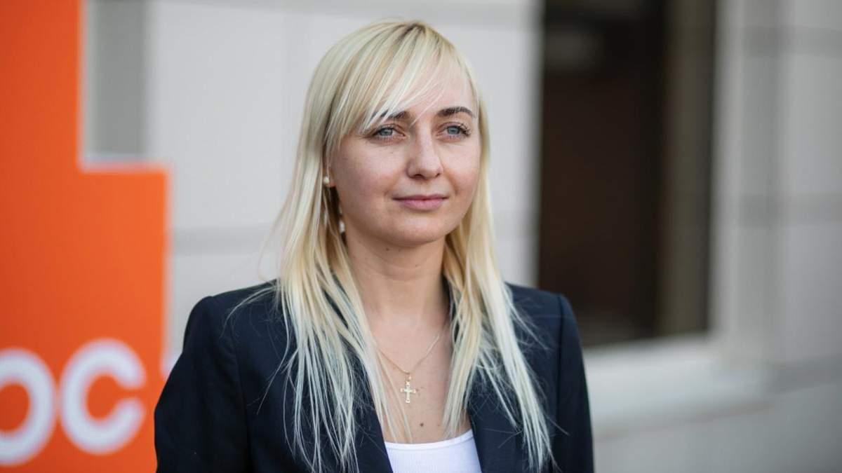 Устінова заявила про вихід з партії Голос