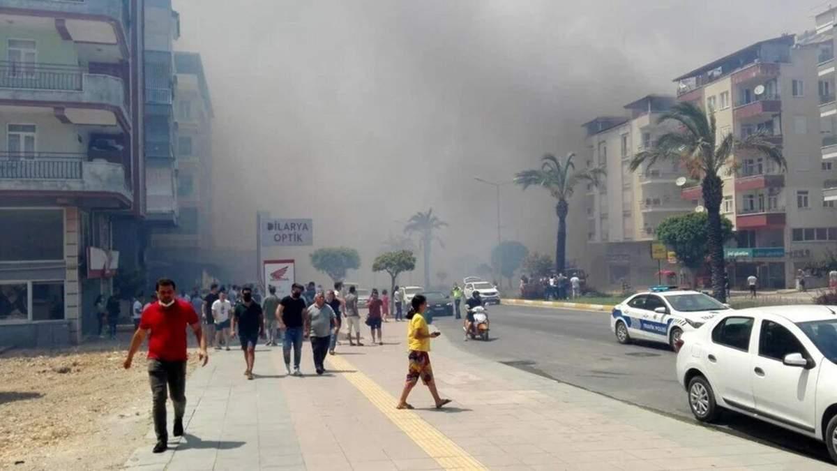 МИД ответил, пострадали ли украинцы из-за пожаров в Турции