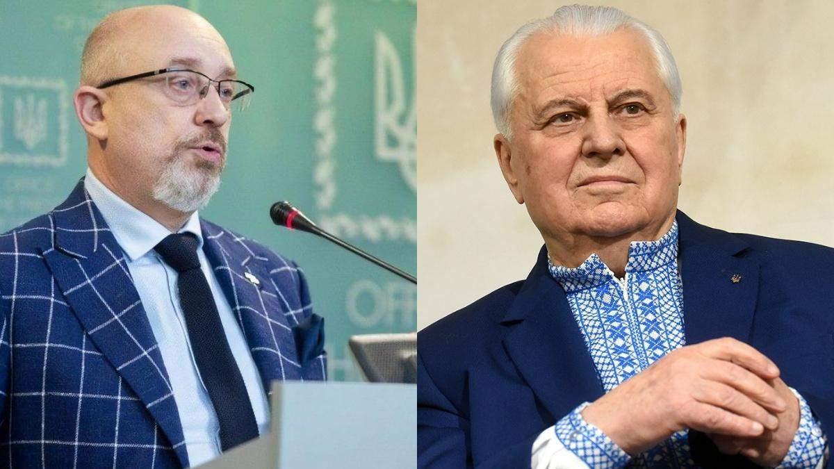 Резников представит Украину в ТГК, если Кравчук не сможет