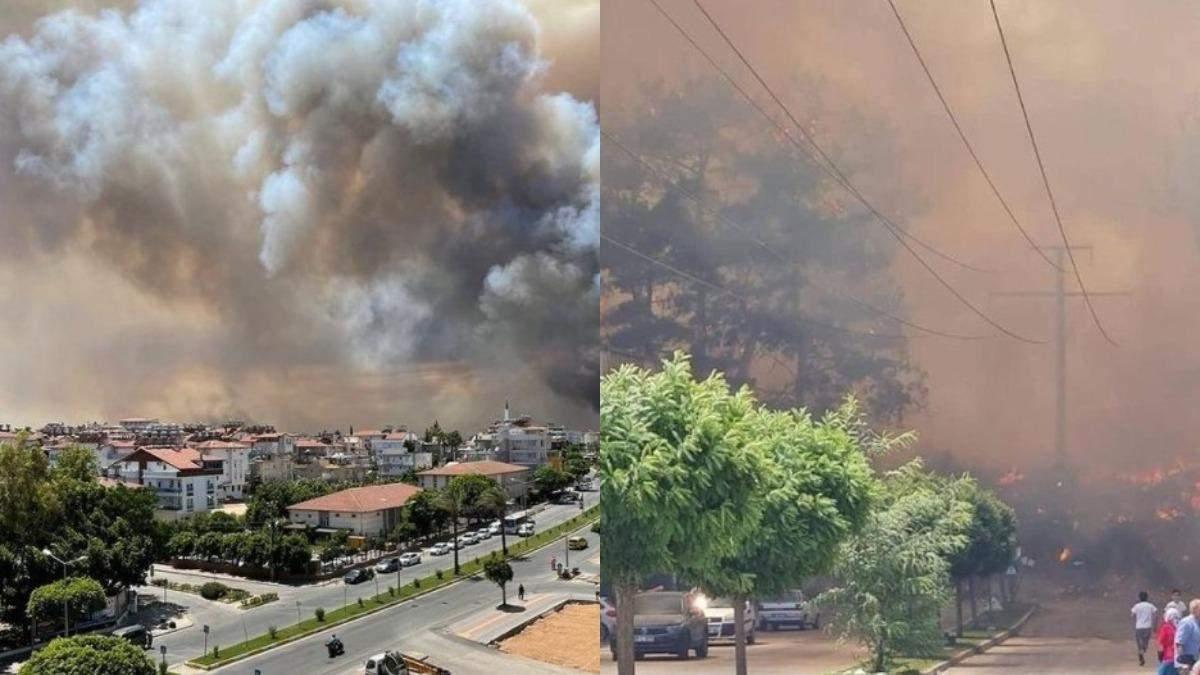Пожары в Турции июль 2021: украинка сказала о пепле в гостинице