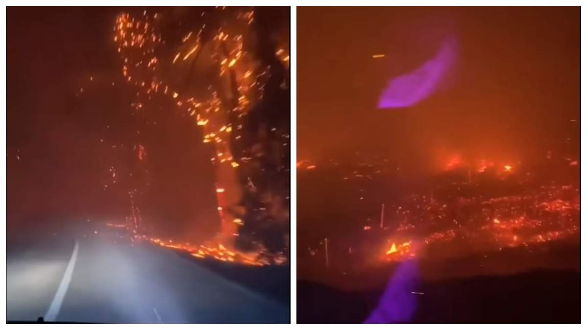Как в аду: видео ужасного пожара в Турции