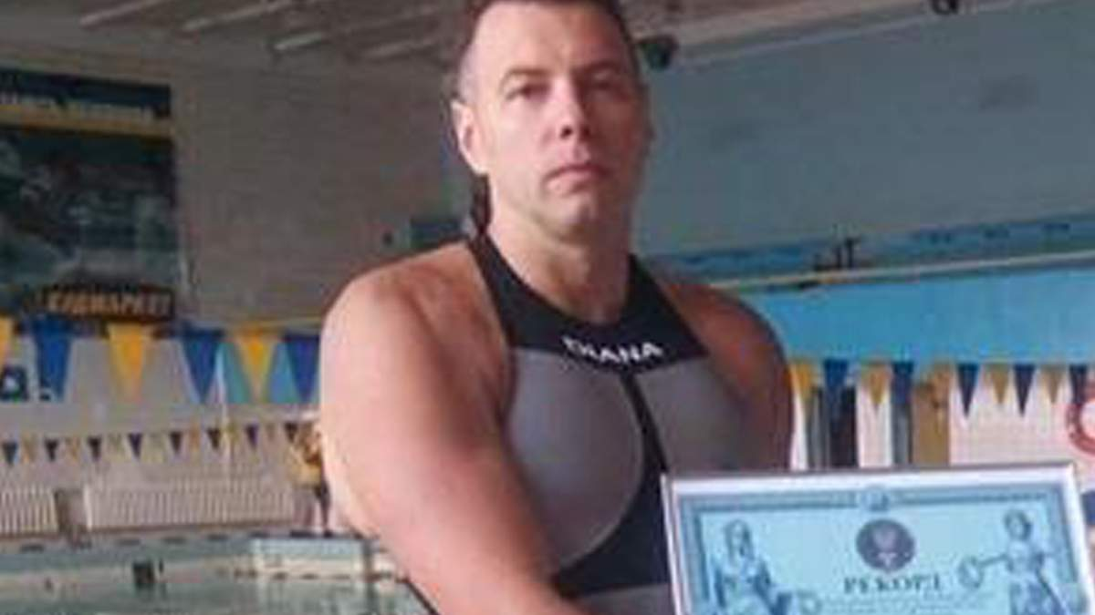 В Белой Церкви умер тренер по плаванию Александр Соловьев
