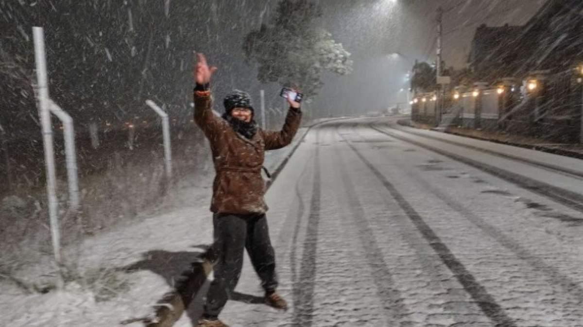 У Бразилії випав сніг і вдарив мороз
