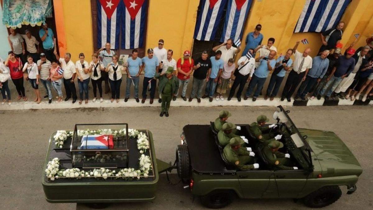 На Кубі за 10 днів померли п'ять генералів-соратників Фіделя Кастро