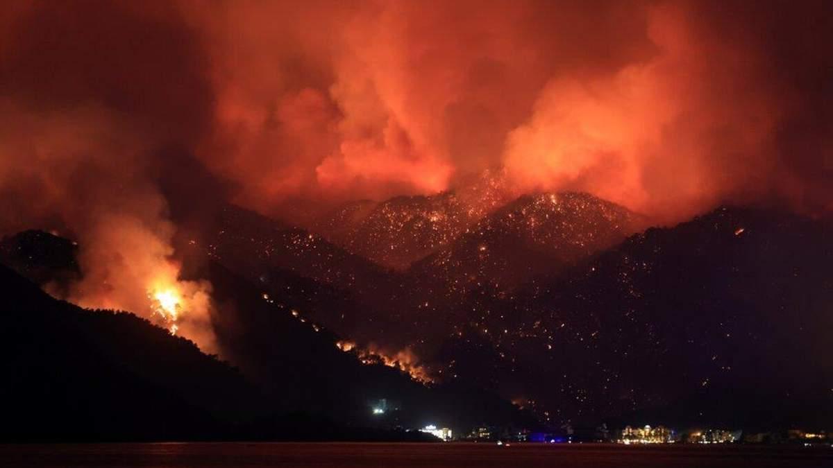 Пожары в Турции: число жертв возросло