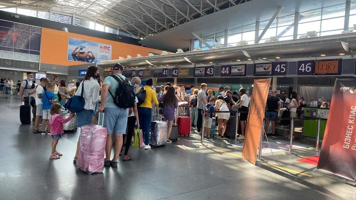 В Борисполе рейс на Турцию задерживают на 10 часов