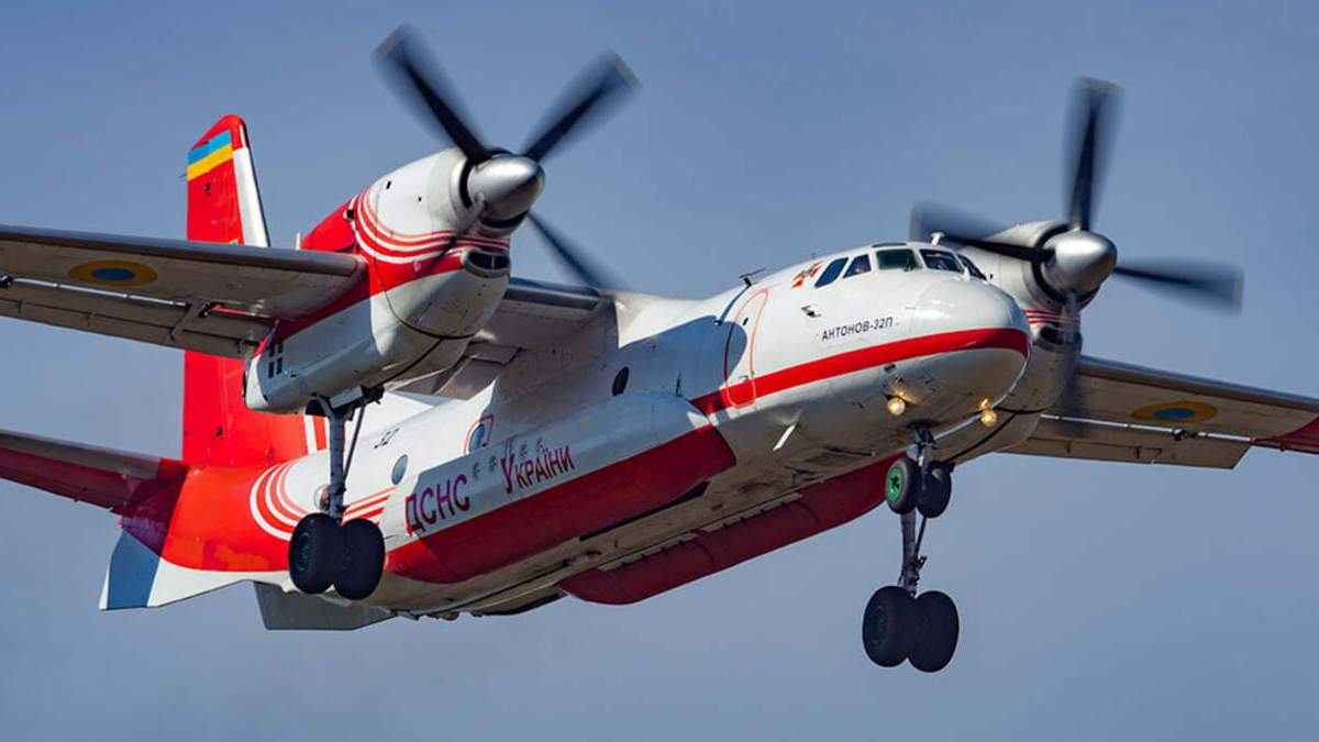 Украинские пожарные самолеты уже вылетели на помощь в Турцию: фото