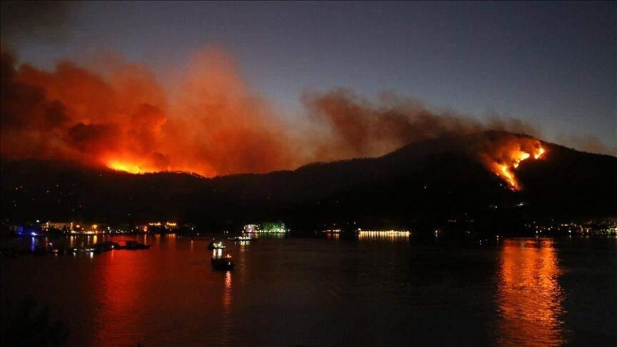 Страшные пожары в Турции: видео и фото, какая ситуация 1 августа 2021