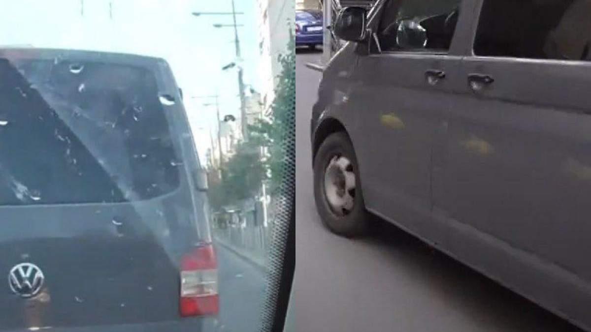 НАБУ показало видео преследования автомобиля СБУ, в котором ехал Чаус
