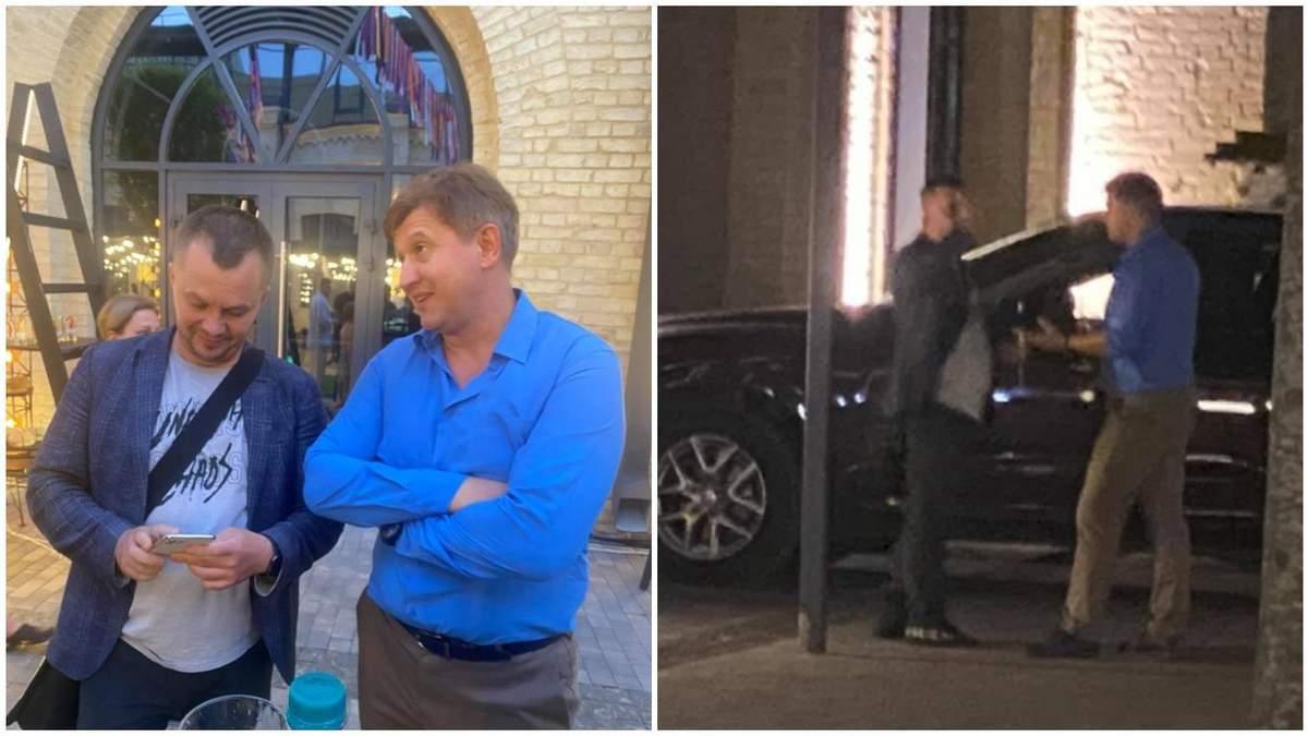 Олександр Данилюк побився з Миловановим на дні народження