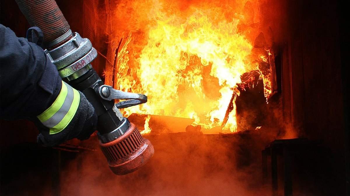 Во Франковске горело общежитие Национального медицинского университета