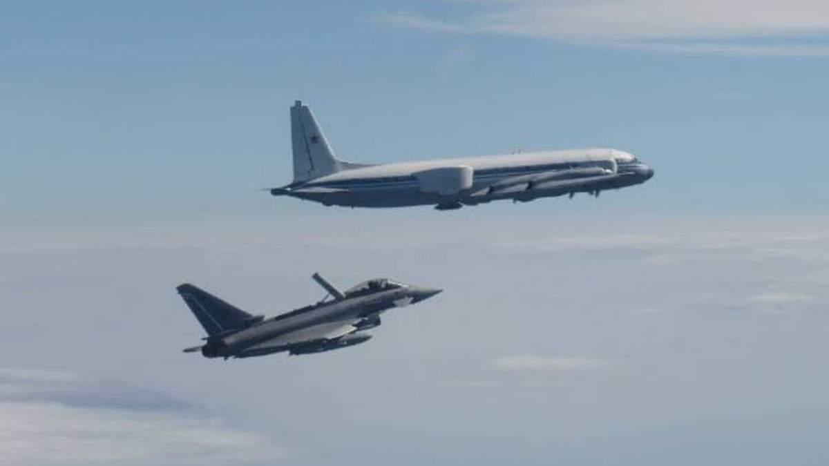 Истребители НАТО перехватили Российские самолеты над Балтийским морем