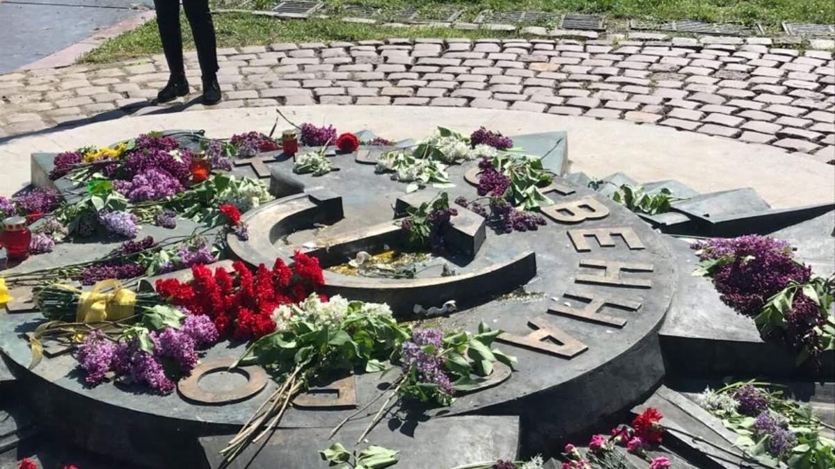 РФ направила ноту через декомунізацію радянської зірки у Львові