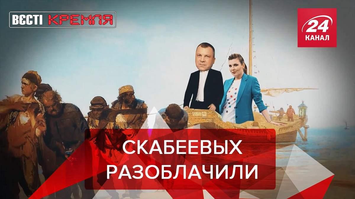 Вести Кремля Сливки: В Скабеевой и Попова нашли элитную недвижимость