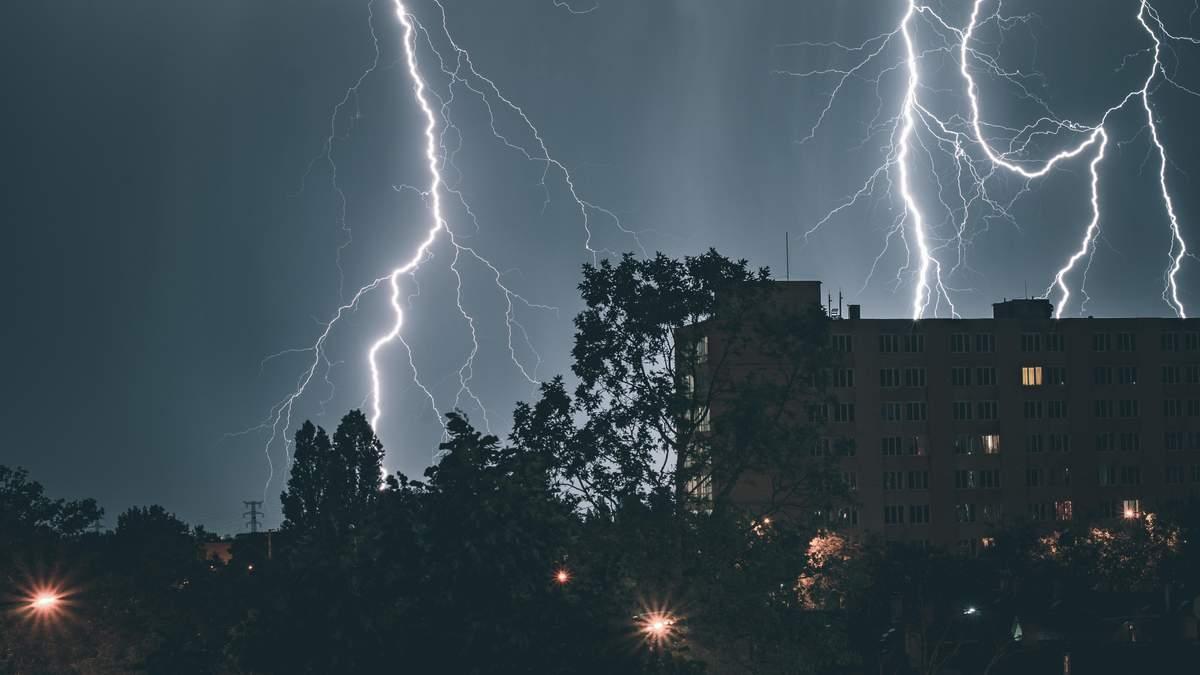 Циклон Гвідо 01.08.2021 принесе грози в Україну