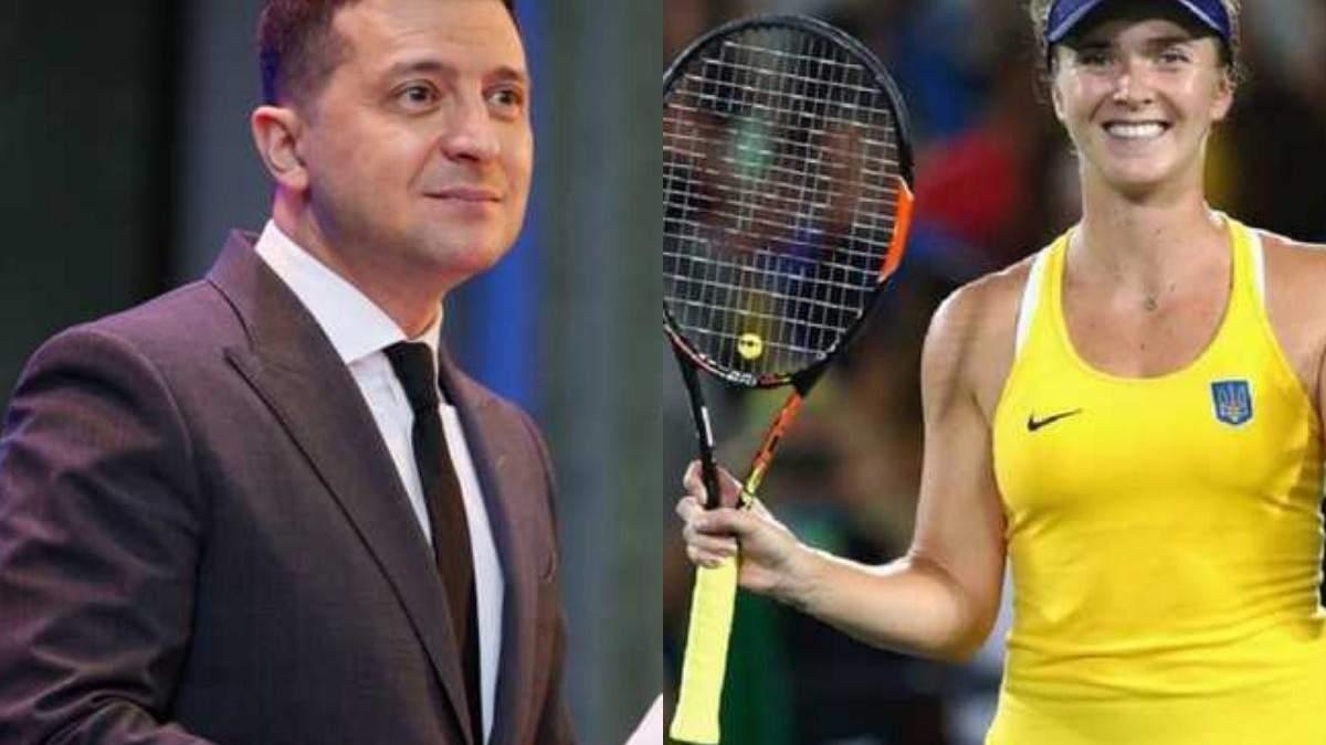 Зеленський привітав Світоліну з бронзою Олімпіади