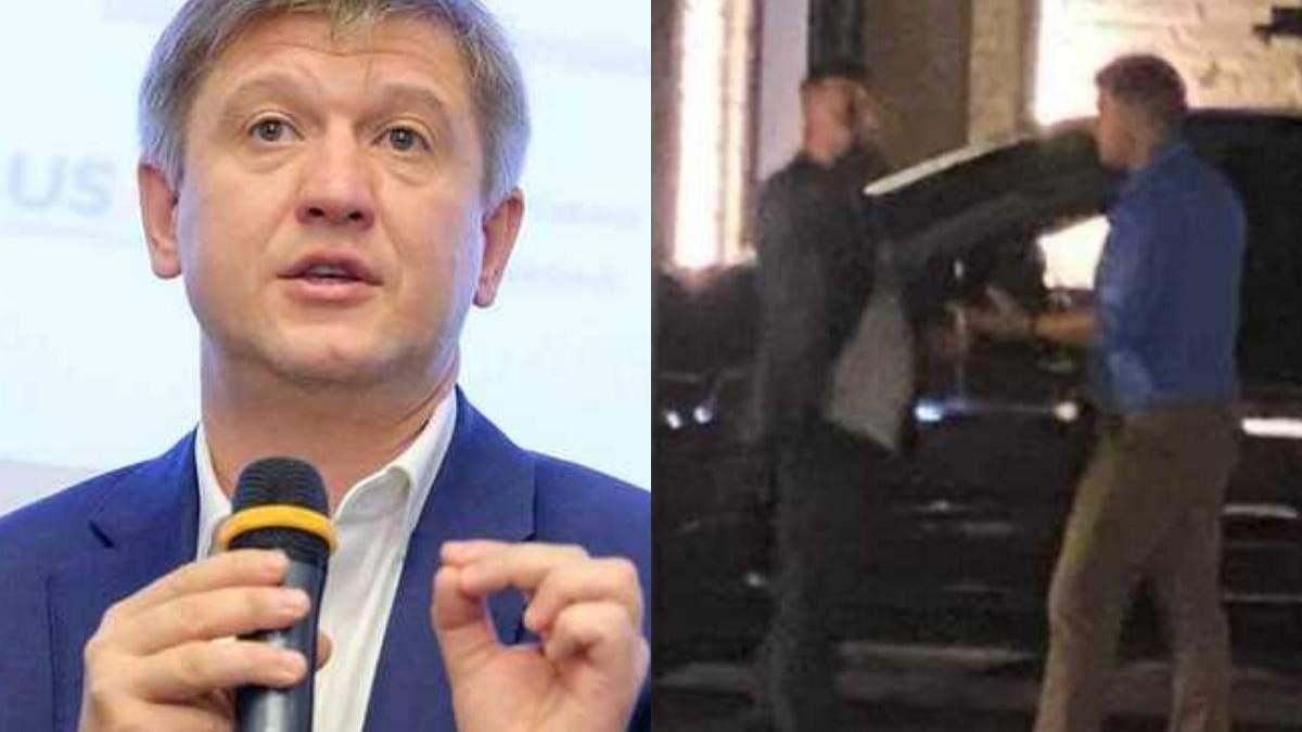 Данилюк прокомментировал драку с Миловановым