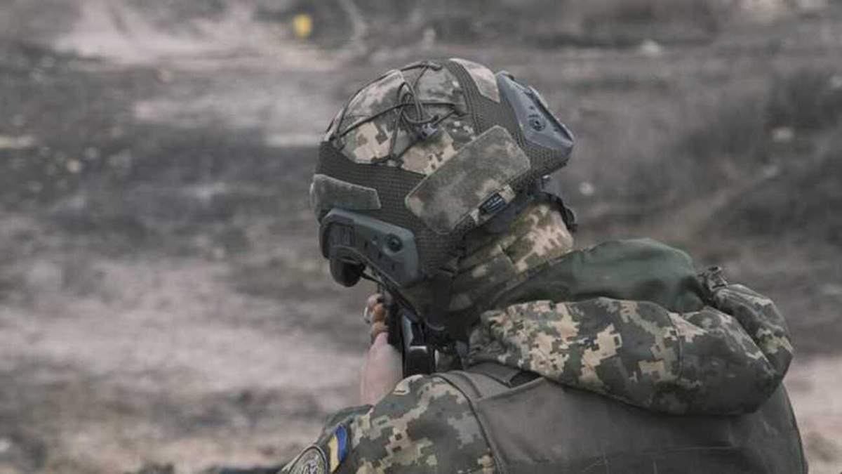Оккупанты ранили украинского военного