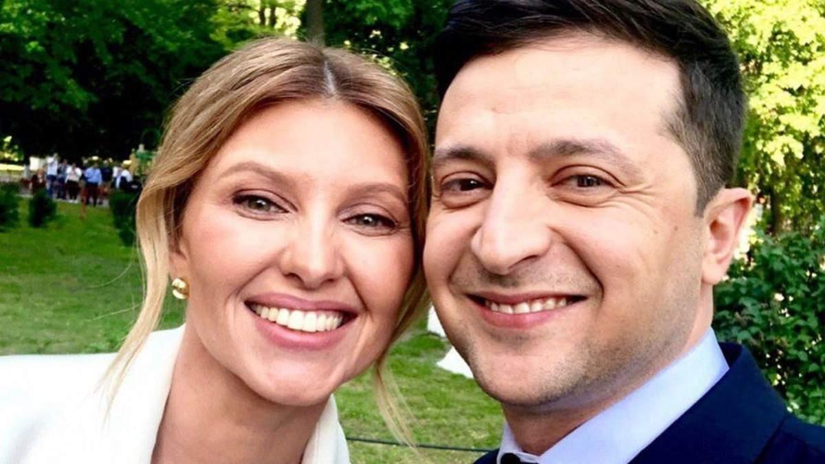 Володимир й Олена Зеленські презентують концепцію Дня Незалежності