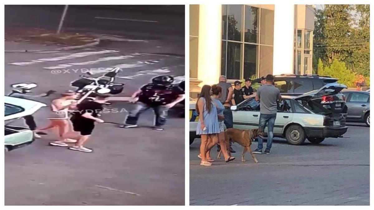 У поліції прокоментували бійку байкерів з молодою парою в Черкасах х