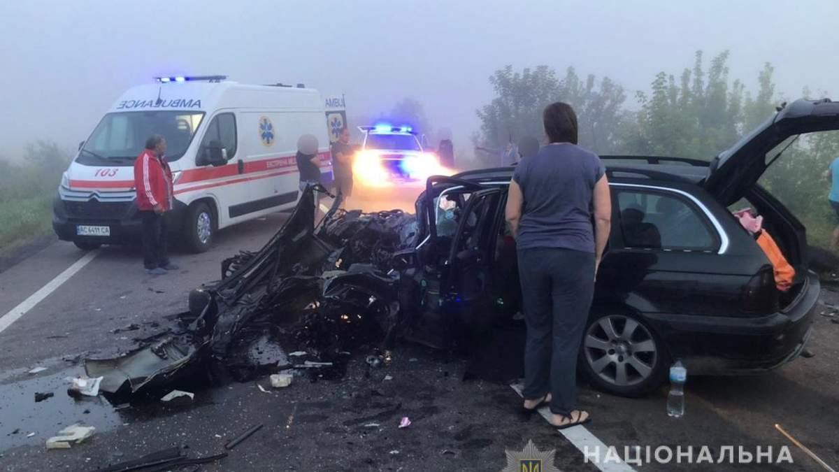 На Волині у ДТП 1.08.2021 постраждали 7 людей: фото