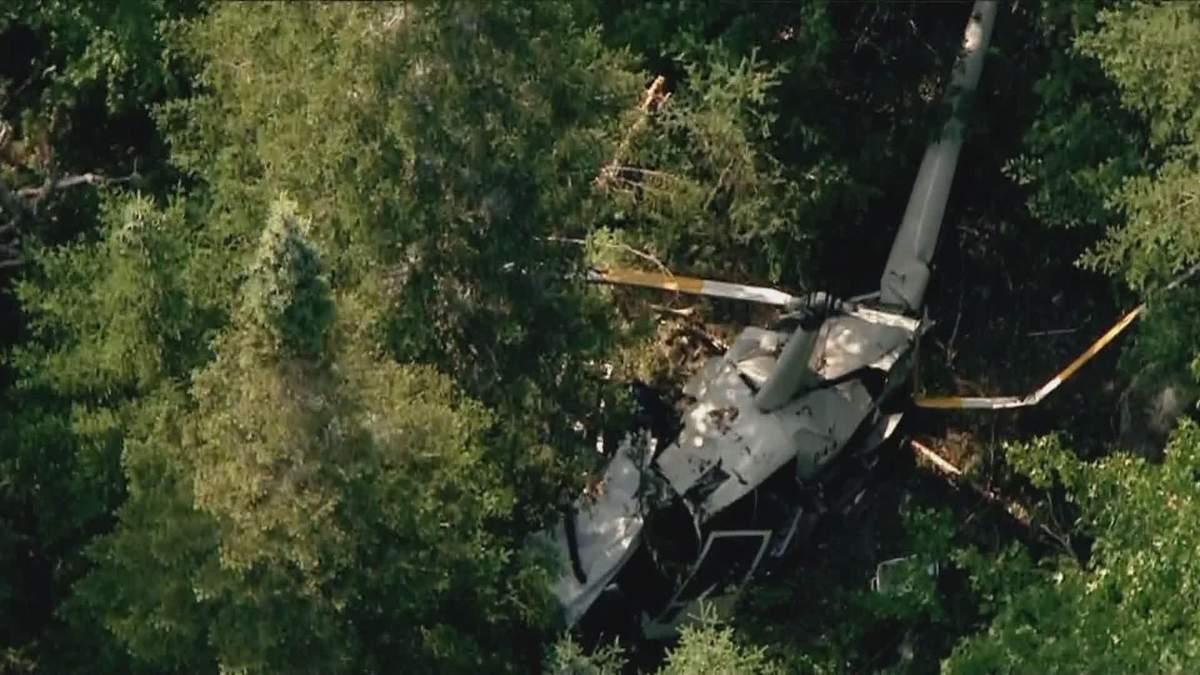 В Калифорнии упал вертолет 01.08.2021: есть погибшие