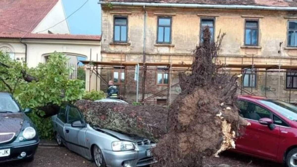 Хорватией 01.08.2021 пронесся сильный шторм: фото