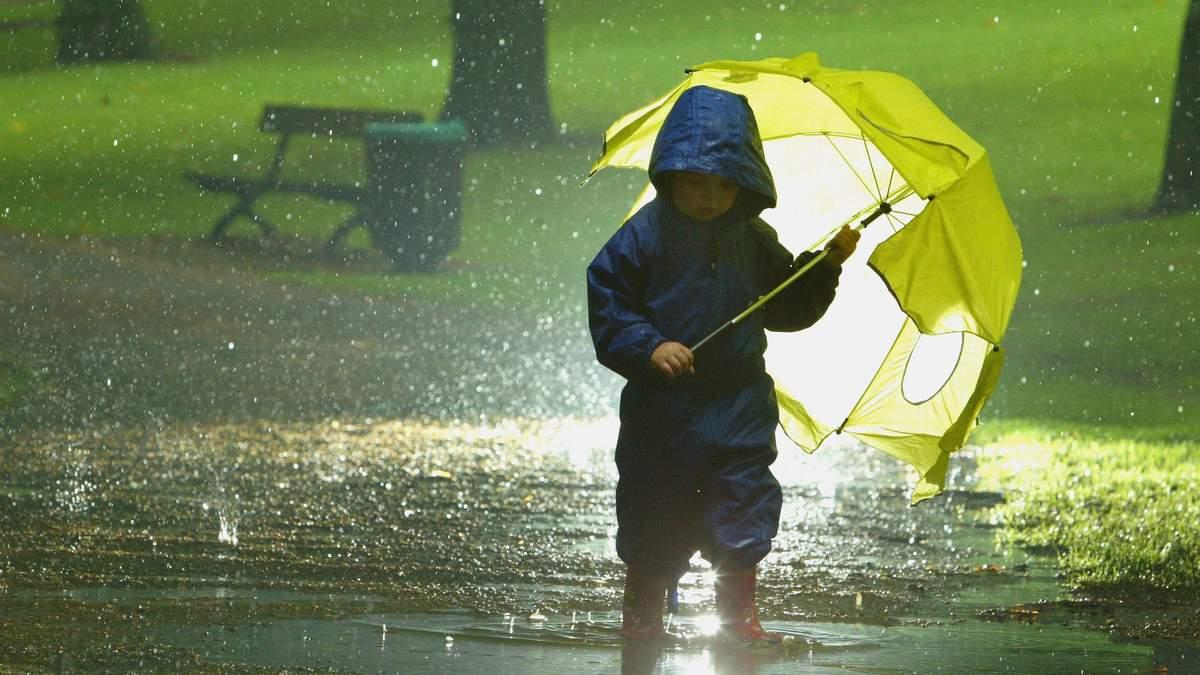 Непогода в Украине 4 - 7 августа 2021: какие области накроет осадками