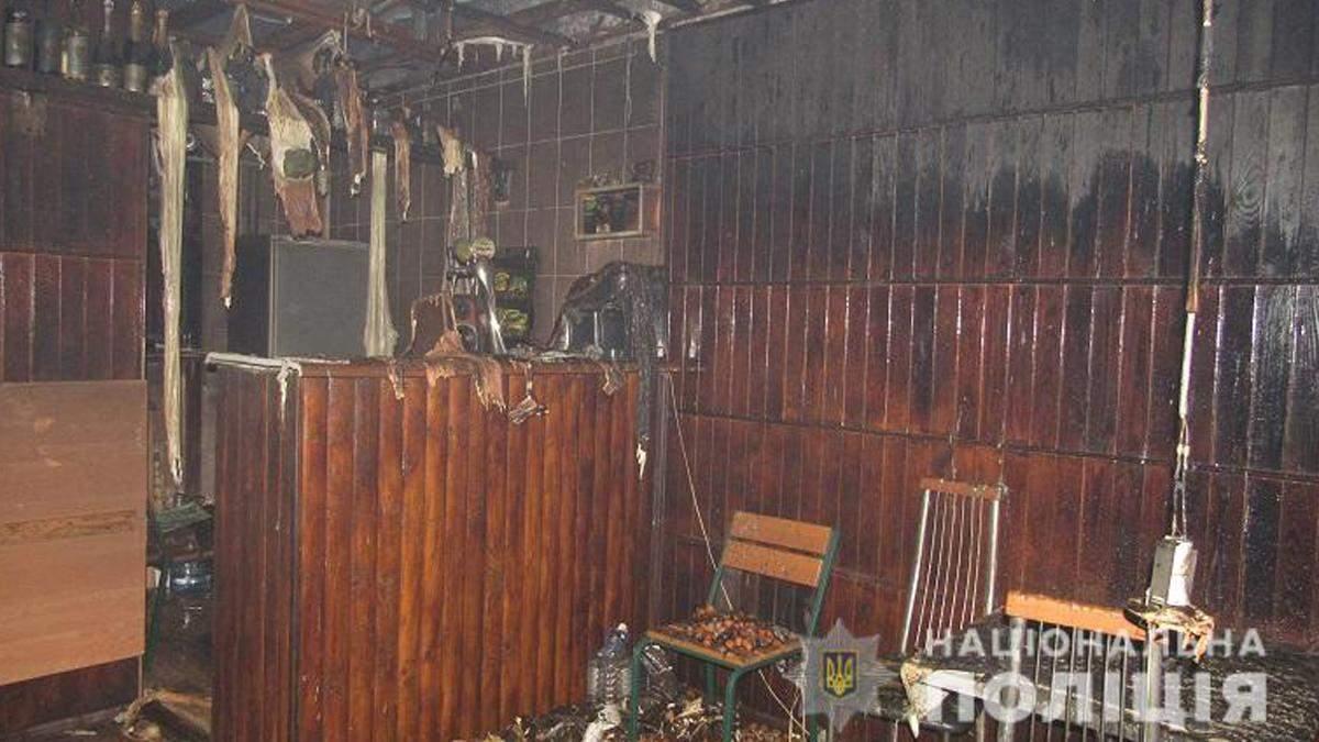 У Києві чоловік спалив кафе, бо не сподобалось обслуговування