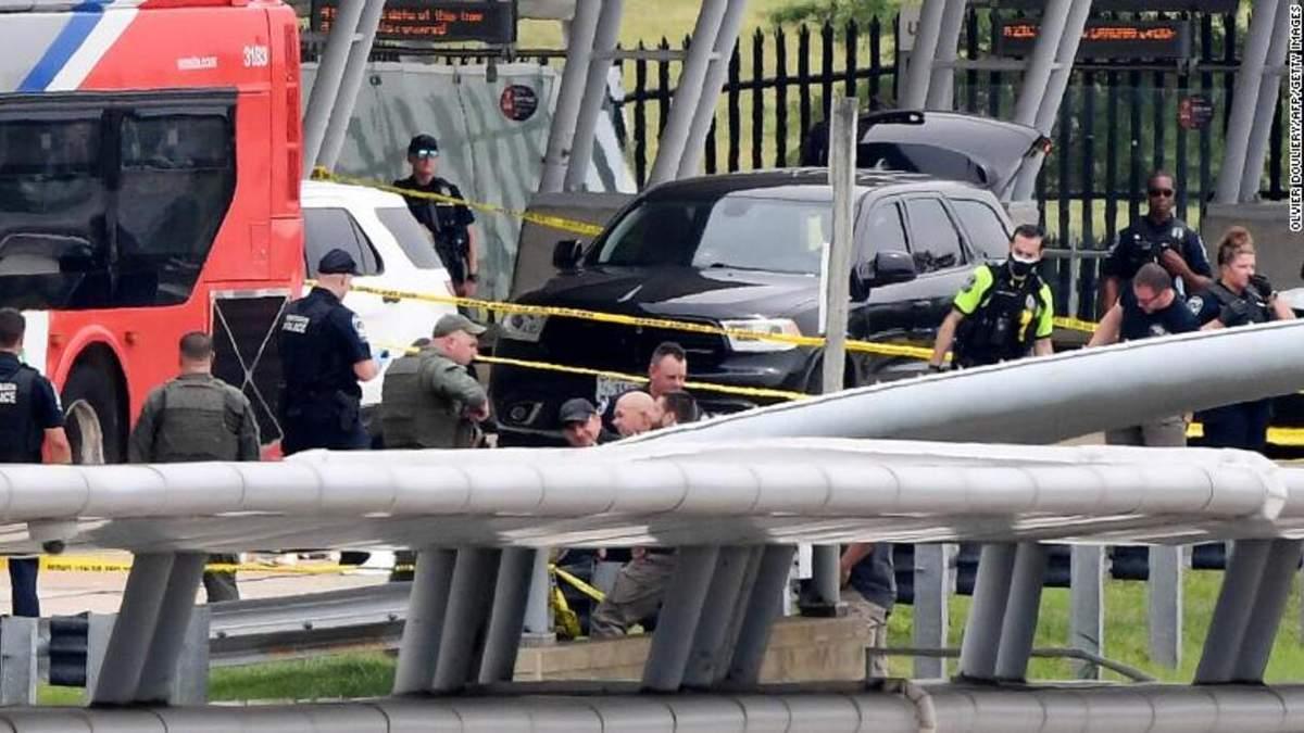 Полицейский погиб во время стрельбы у здания Пентагона, - СМИ