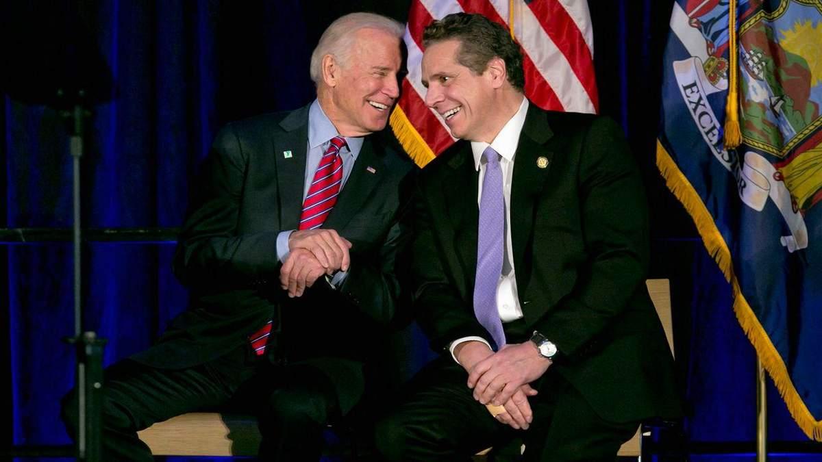 Байден закликає до відставки губернатора Нью-Йорка через секс-скандал