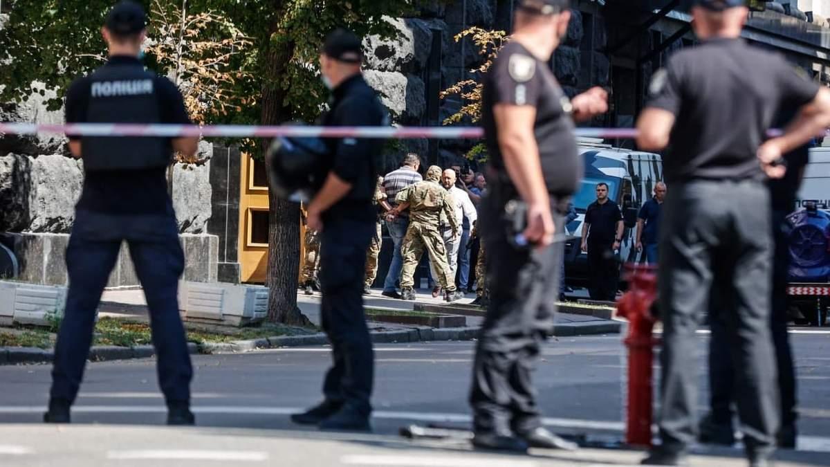 МВС показало відео затримання АТОвця, що хотів підірвати уряд