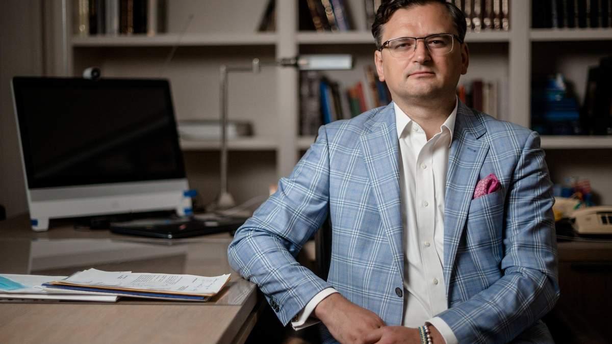 Міністр закордонних справ України Дмитро Кулеба та генсек НАТО Йенс Столтенберг