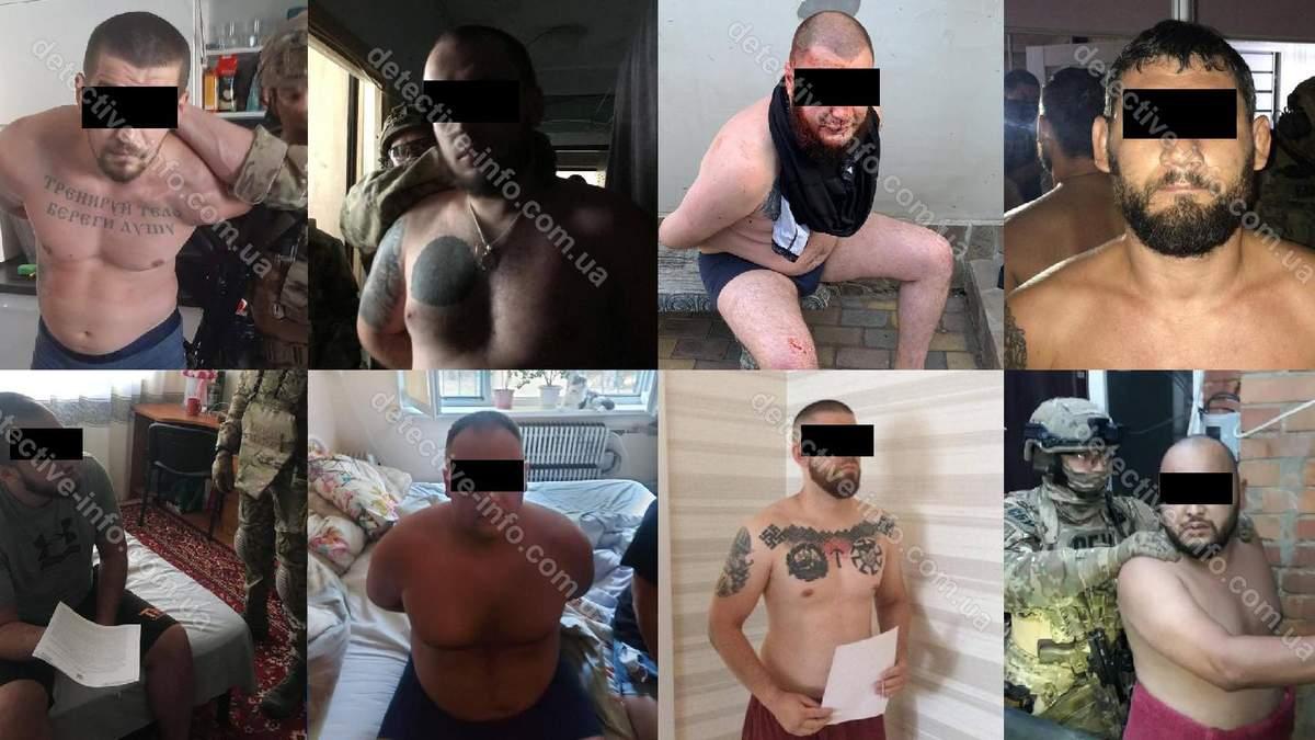 ЗМІ опублікували імена затриманих у харківському Нацкорпусі