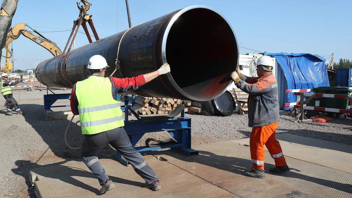 Північний потік-2 - у Росії назвали терміни завершення будівництва