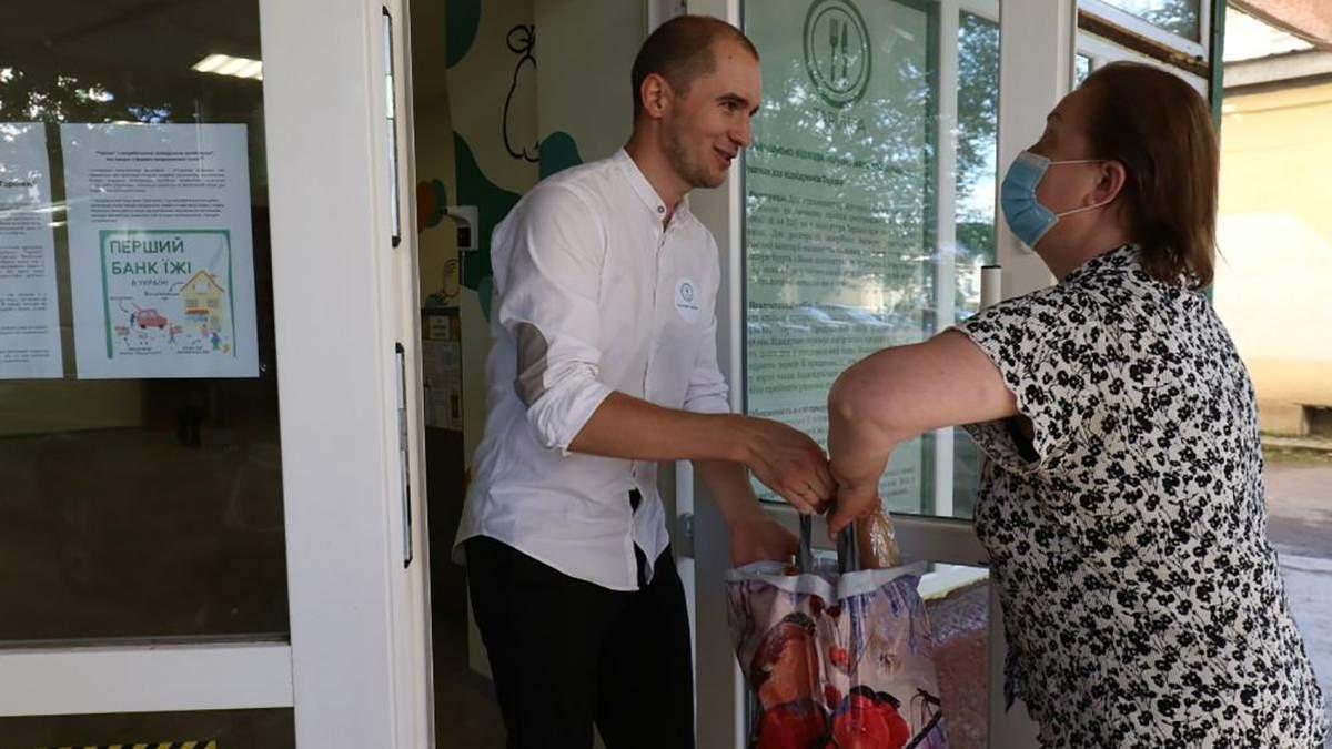 Во Львове заработал продовольственный банк Тарелка: еду может получить каждый, кто в этом нуждается