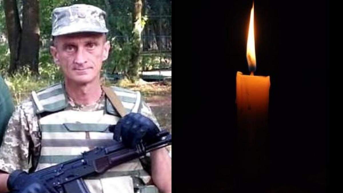 На Донбасі помер військовий з Львівщини Олександр Орос