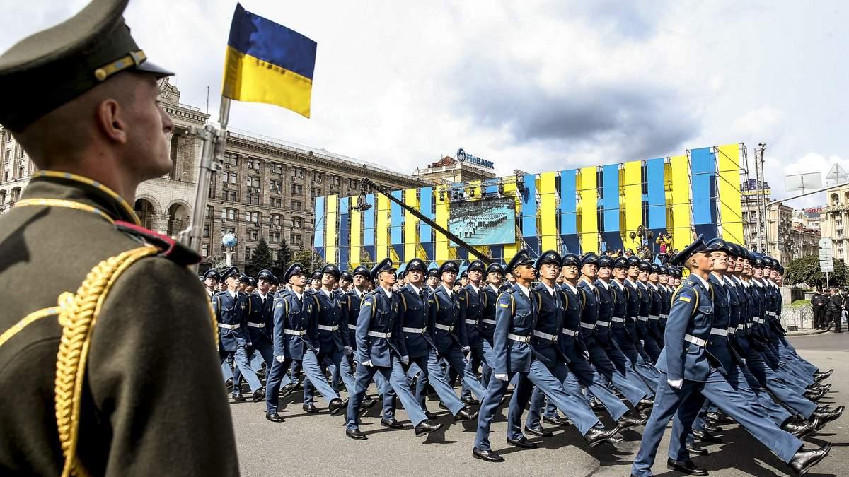 Що відбудеться в Києві на День Незалежності 24 серпня
