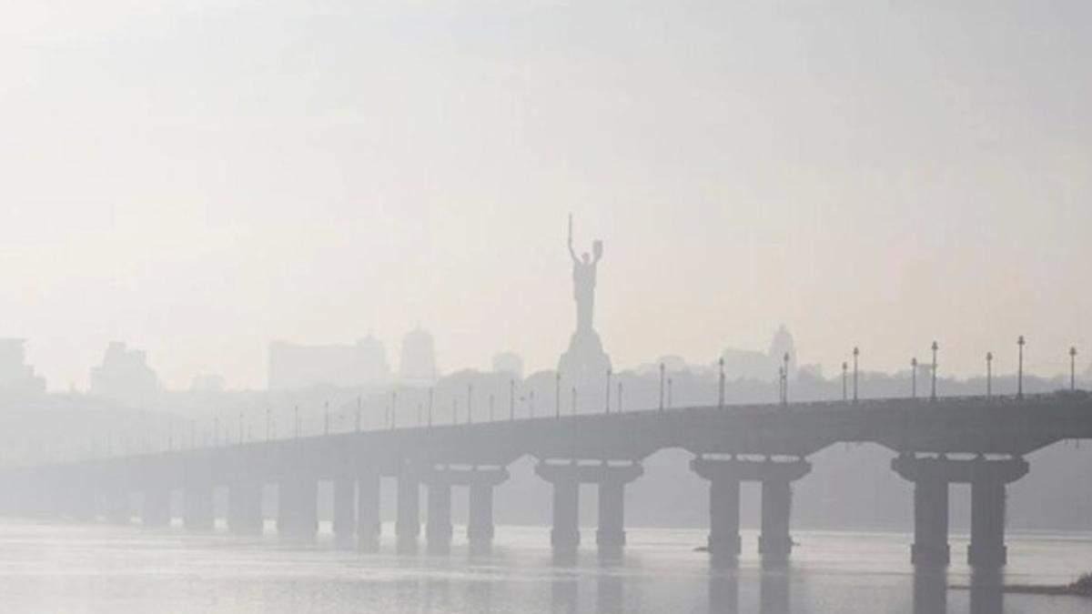 Киев снова в ТОП по уровню загрязнения воздуха