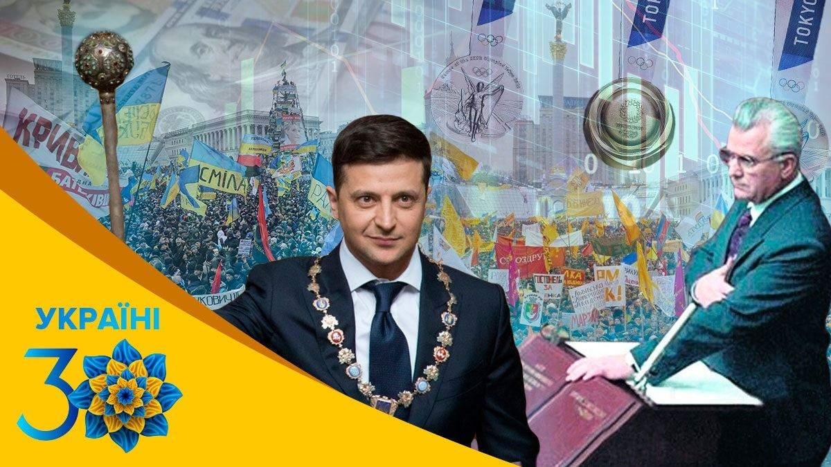 Как менялись зарплата, количество населения, президенты: 30 лет независимости Украины в цифрах
