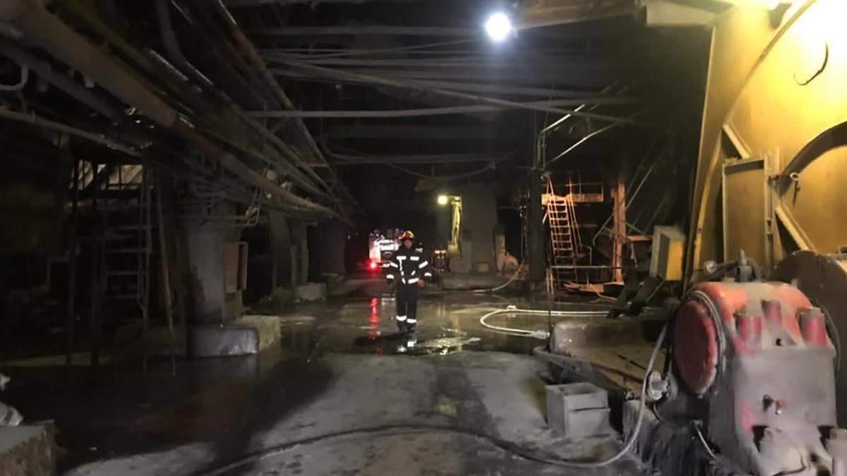 На Прикарпатті спалахнула Бурштинська ТЕС: пожежу гасили майже 60 рятувальників - Новини Івано-Франківськ - 24 Канал