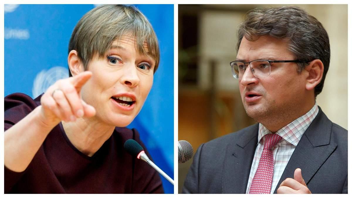 """Неуместное заявление, – Кулеба возмущен словами главы Эстонии о """"20 годах для вступления в ЕС"""" - Горячие новости - 24 Канал"""