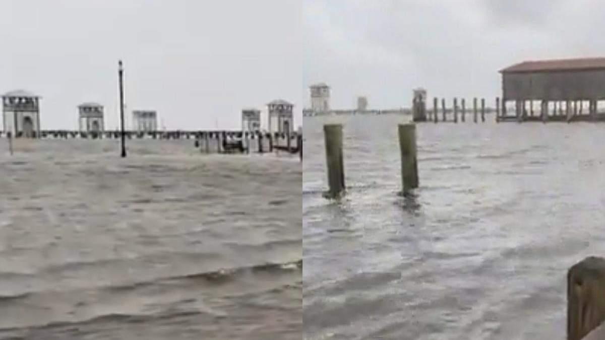 Мощный ураган Ида изменил направление течения реки Миссисипи: жуткие видео