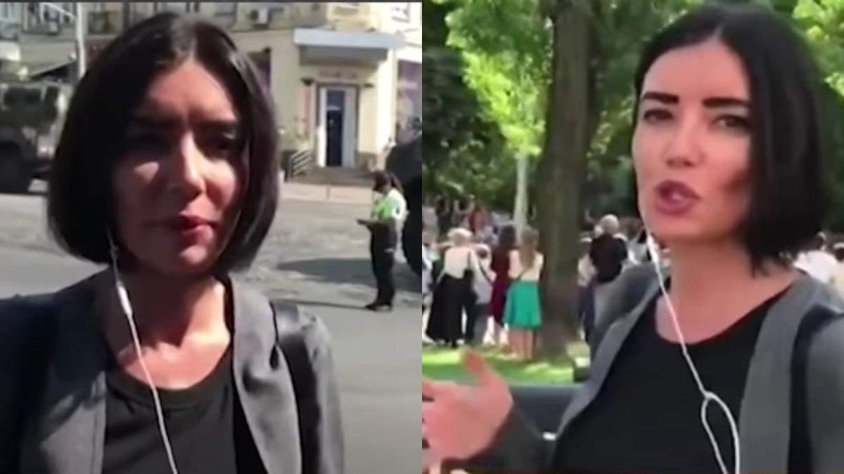 Лгала о гражданской войне: русская пропагандистка попала на парад ко Дню Независимости
